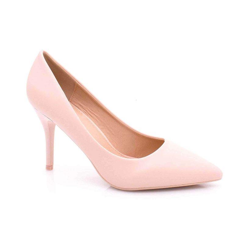 Escarpin Femme Aiguille - Chaussures Classique - Haut Talon 8 CM Couleur ROSE