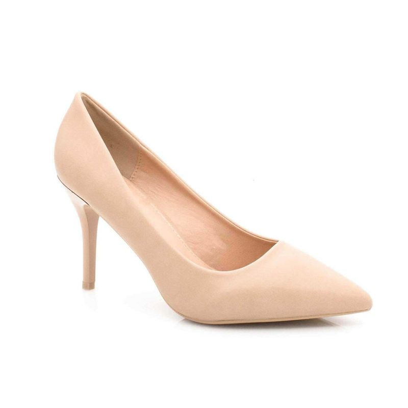 Cink-me Escarpin Femme Aiguille - Chaussures Classique - Haut Talon 8 CM HH12 Escarpins