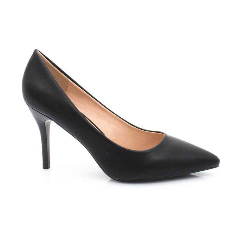 Escarpin Femme Aiguille - Chaussures Classique - Haut Talon 8 CM Couleur NOIR