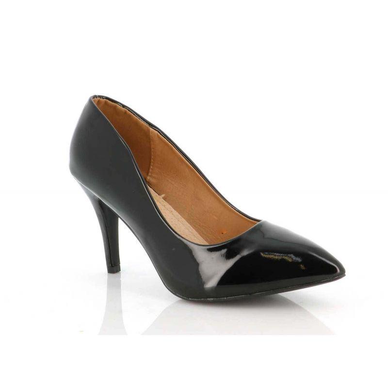 Escarpin Grande Taille Verni - Chaussure Femme Multicolore Effet Dégradé