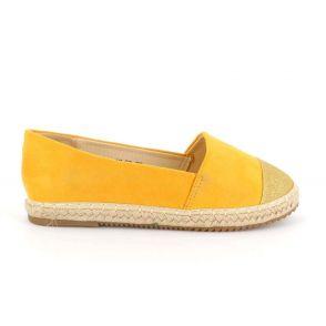 Espadrilles Femme A Paillettes - Chaussures Brillantes Plateforme Bimatière Espadrilles DoubleTree 13,99€