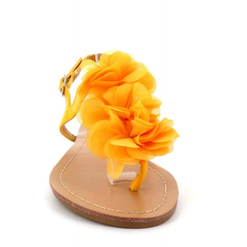 Sandalessandale Plates S Femme A Doubletree Fleurs Chaussures Eté drCxBoe