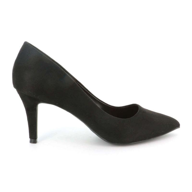 Queen Vivi Escarpin Femme En Daim - Chaussures Couleur Unie Classique - Haut Talon Cérémonie - Sexy Mariage Chic Elégant 539 ...