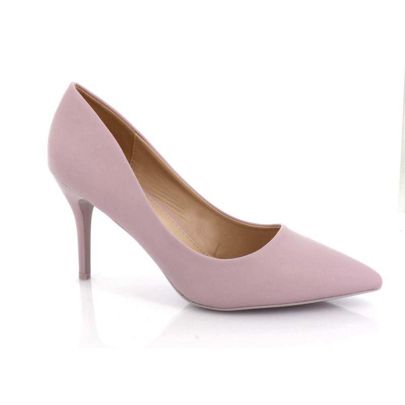Escarpin Femme Aiguille - Chaussures Classique - Haut Talon 8 CM Couleur VIOLET
