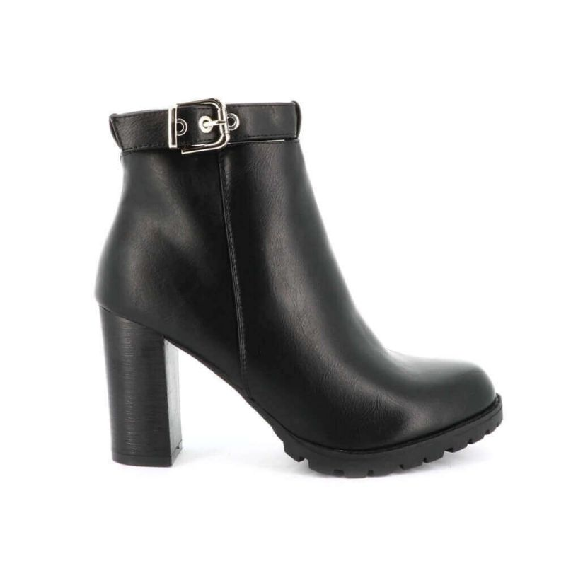 Boots Chelsea Femme Silimi Cuir - Bottines Brides Bottines DoubleTree 32,99€