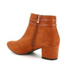 Bottines Daim Grande Taille 41-44 – Boots Femmes Talon Haut Large Bottines DoubleTree 29,99€