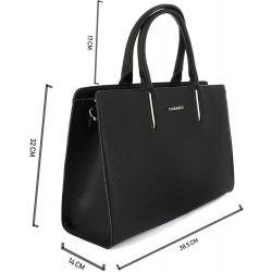 Flora and Co Sac Cabas Grande Taille XL Rigide – Shopper Format A4 9516 Sacs cabas