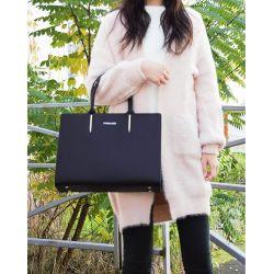 Flora&Co Sac Cabas Grande Taille XL Rigide – Shopper Format A4 9516 Sacs cabas