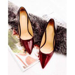 Queen Vivi Escarpin Femme Vernis - Chaussure Escarpin Dégradées Talon Fin - Talon Aiguille Haut Sexy 11CM DF-79 Escarpins