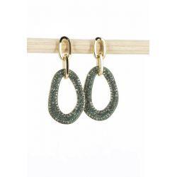 Boucles d'oreilles maillons de chaîne 89 Boucles d'oreilles