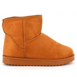 Boots femme casual textile avec doublure chaude pour l'hiver JR992 Bottes et Bottines