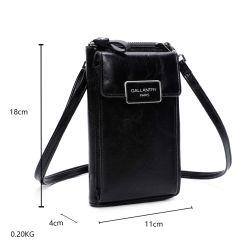 Gallantry Petit sac téléphone portefeuille porte-monnaie avec bandoulière tout-en-un femme 72002 Sacs en bandoulière